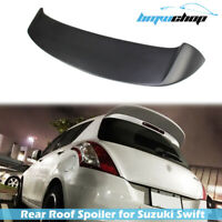 Painted Rear Roof Spoiler for Suzuki Swift 3rd AZG 11-17 Hatchback Spoon Type