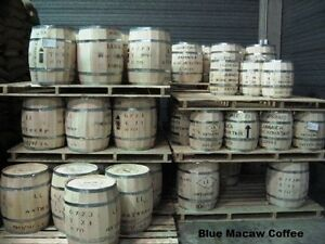 100 % Jamaican Blue Mountain Coffee Beans Whole Medium Roasted Daily 10 / 1 LBS