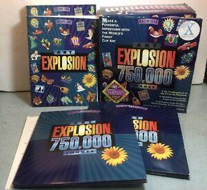 2000 Nova Developement ART EXPLOSION 750,000 IMAGES OS X 48 CD w/Box & Manuals