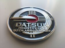 Datsun 240z 260Z 280Z 280zx Anniversary Club Grille badge emblem- FITS ALL S30