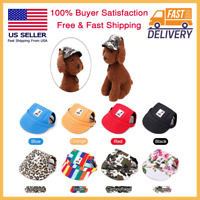 Dog Baseball Cap Pet Adjustable Hat Outdoor Sport Travel Small Puppy Summer New