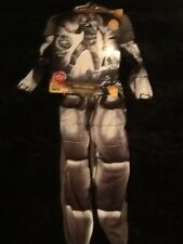 "Boy Halloween Deluxe Costume ""REDAKAI"" Metanoid Mask Muscles, Size S(4-6) ,NWT"