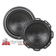 """2 Rockford Fosgate P1S4-10 Car Audio 10"""" Subwoofers SVC 4-Ohm Subs 1,000W Punch"""