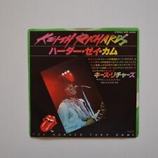 "KEITH RICHARDS - The harder they come - 1979 JAPAN 7"" SINGLE"
