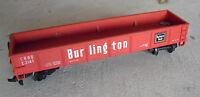 Vintage HO Scale Bachmann Burlington CB&Q E3141 Gondola Car