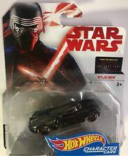 New Star Wars Hot Wheels Character Cars Kylo Ren Die Cast Brand New Nip