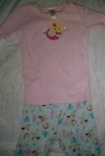 GYMBOREE VINTAGE GIRLS MERMAID SHORTY PAJAMAS SIZE 9 CUTE!!