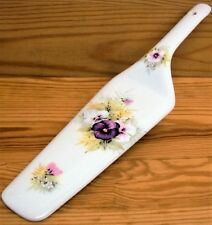 Pansies Cake Server Fine Bone China Cake Slice Pansy Pie Cake Server