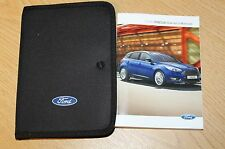 NEW SHAPE FORD FOCUS HANDBOOK OWNERS MANUAL 2014-2018 PACK