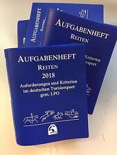 2018 Aufgabenheft Reiten, Ausgabe 2018 in Kst.-Ordner (2017, Ringbuch) - Neu!!