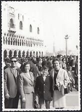 YZ0916 Venezia - Piazza San Marco - Animata - Fotografia d'epoca - Vintage photo