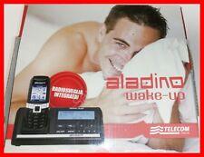 Cordless Telecom Aladino Slim con radiosveglia integrata