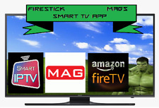 12 month IPTV subscription Fire stick Smart tv Samsung LG sports movies mag box