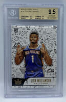 2019 Panini Court Kings Zion Williamson ROOKIE LEVEL II BGS 9.5 TRUE GEM MINT