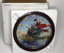 """Harry Potter 10"""" Wall Clock - Sorcerer's Stone - Hard To Find - Factory Sealed"""