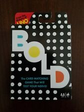 Mattel Bold Card Matching Game that will Test your Nerve! Match Up To 4 Elements
