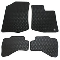 Toyota Aygo MK I 2005-2013 Fully Tailored 4 Piece Rubber Car Mat Set with 1 Clip