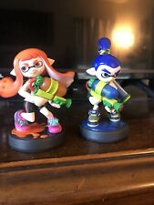 Splatoon amiibo Inkling Boy And Girl