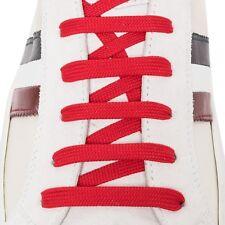 Lacci per Scarpe Sneakers - Bergal 140cm Piatti Larghi Rossi