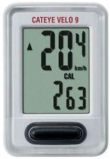 Cateye Ordinateur de vélo Velo 9 CC-VL820 blanc