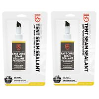 Gear Aid Seam Grip FC Fast Cure Seam Sealant 2oz Waterproof Tents Tarps (2-Pack)