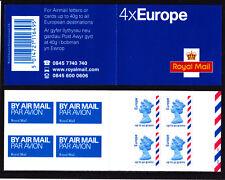 FOLLETO correo aéreo Maquna MI2 Europa Cilindro de error