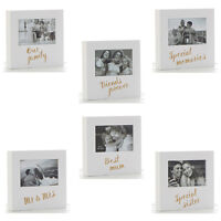 Photo Frame Picture Box Occasion Sister Mum Mr & Mrs Family Friends Memories