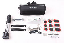 16 in 1 Multi-use Bicycle Cycling Tire Tyre Repair Tools Pump Kit Bag Glue Patch