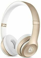Beats Solo2 Wireless On-Ear Headphone Bluetooth Device with 30-Foot Range- Gold