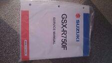 New Suzuki GSX-R750F shop repair Service Manual 99500-37108-03E