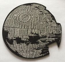 Star Wars Death Star Embroidered Iron On/Sewn On Patch 4.0""