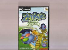 ZOOMBINIS ISLAND ODYSSEY. EDUCATIONAL SOFTWARE FOR AGES 7 & UP ON THE PC. NEW!!