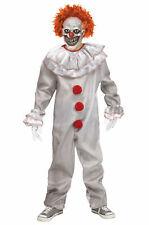 Twisted Clown Pennywise IT Costume Kids Boy's Costume Child Medium 8-10