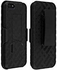 iPhone 5C / Lite BELT CLIP Holster and SHELL CASE  BlackI