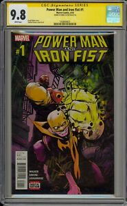 POWER MAN AND IRON FIST #1- CGC 9.8- SIGNED BY LUKE CAGE- MIKE COLTER-1438464021