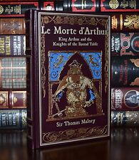 Le Morte d'Arthur by Thomas Malory New Leather Bound Collectible 2 Day Ship