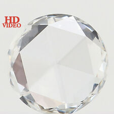 Natural Loose Diamonds Round Rose Cut F Color VVS2 Clarity 5.00 MM 0.29 Ct L3607