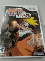 Naruto: Clash of Ninja Revolution 2 (Nintendo Wii) Complete with Manual Clean