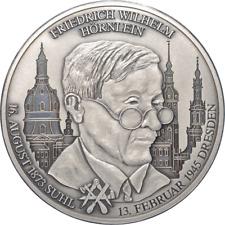 Medaille auf den Medailleur Friedrich Wilhelm Hörnlein, Silber, Erhaltung ST
