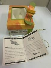 Just The Right 00000448  Shoe, Spring Fever Item #25522 Coa w/box