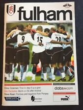 "Arsenal"" 49 robusto ""Via V Fulham 11/09/2004 GIOCO 45"