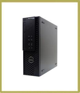 Dell Precision T1700 SFF Quad i5 4th Gen 4570S 2.90GHz 8GB 500GB 10 Pro 1B2E