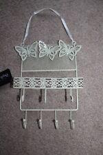 Cream Butterfly Earrings Jewellery Display Rack Metal Stand Holder Storage