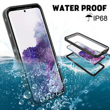 For Samsung Galaxy S20 5G Phone Case Built-in Screen Protector Waterproof Cover