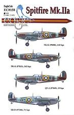 EagleCals Decals 1/32 SUPERMARINE SPITFIRE Mk.IIa British Fighter