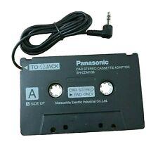 Panasonic SH-CDM10B Wired Car Stereo Audio Cassette Adapter