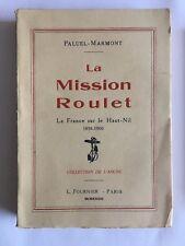 LA MISSION ROULET 1933 PALUEL MARMONT FRANCE HAUT NIL L'ANCRE