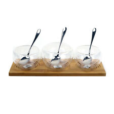 Wilmax Bowls, Tray and Spoons Set