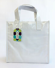Von Maur 'My Lunch' Bag Insulated Cooler Cool Bag - White - Zip Closure