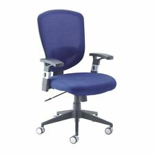Arista Fusion High Back Mesh Chair With Lock and Tilt Blue [KF73907]